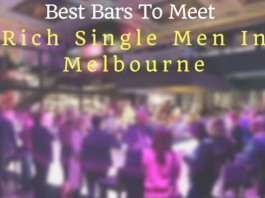 Best Bars to meet rich single men in Melbourne
