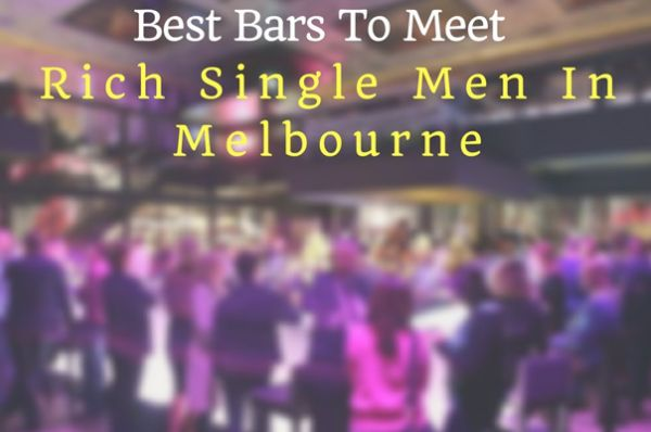 Dating rich women in Melbourne