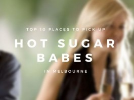Top 10 places to pick up hot sugar babes in Melbourne