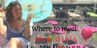 Where to meet hot girls in Melbourne